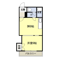 NKマンション東館 - 間取図